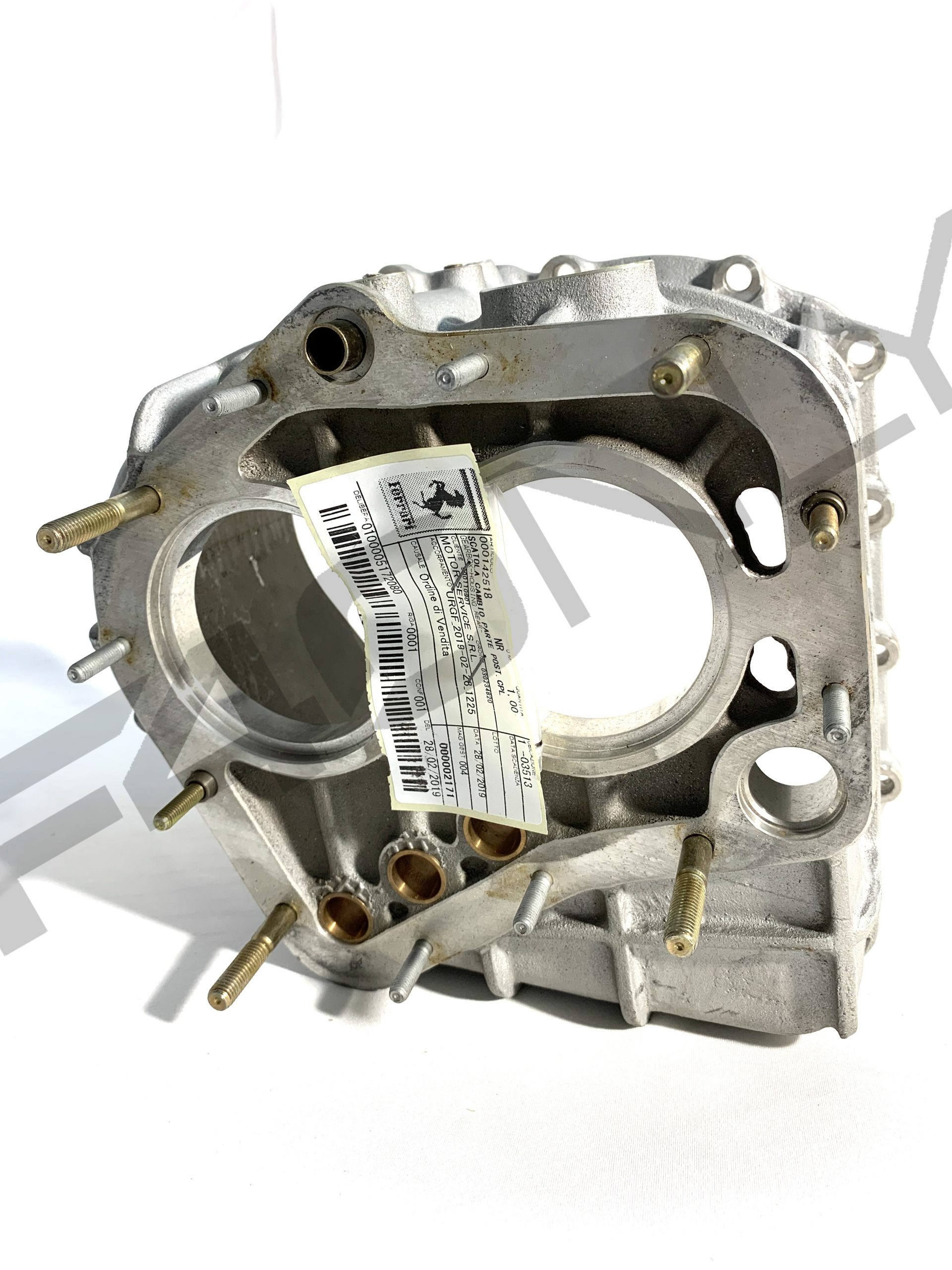 Gearbox Housing Rear Image