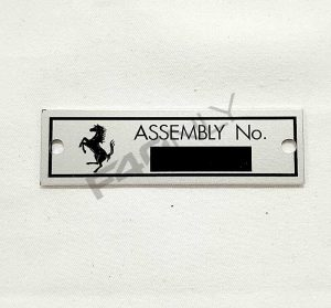Assembly number target Image