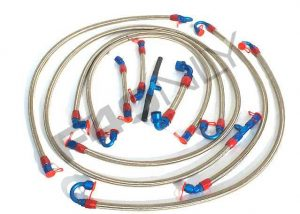 Complete kit fuel hoses Image